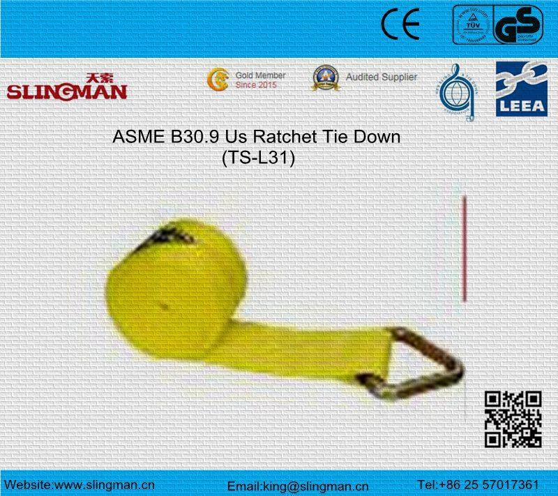ASME B30.9 Us Ratchet Tie Down (TS-L31-03)