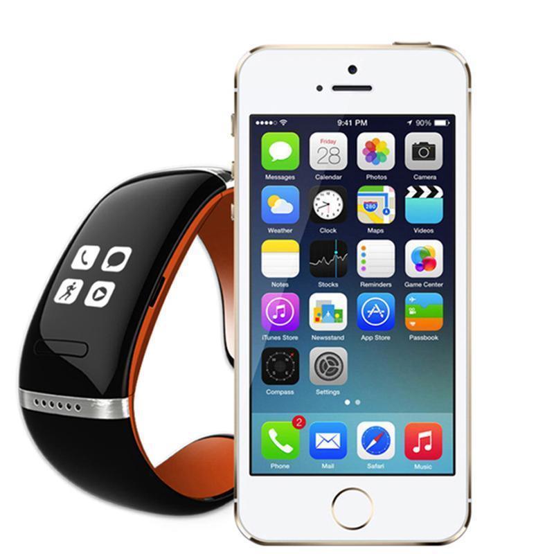 Gelbert L12s Bluetooth Smart Bracelet for Fitness