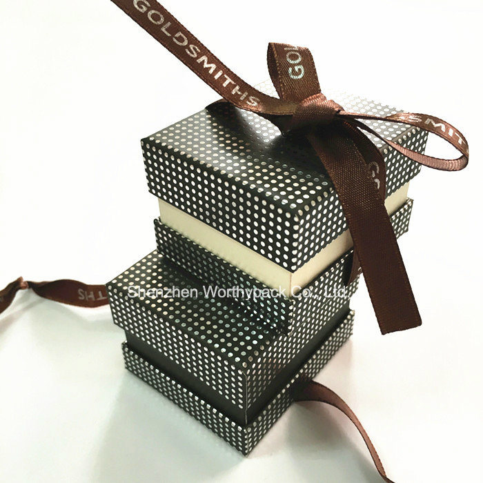Rigid Ring Trinket Box for Ring Jewelries