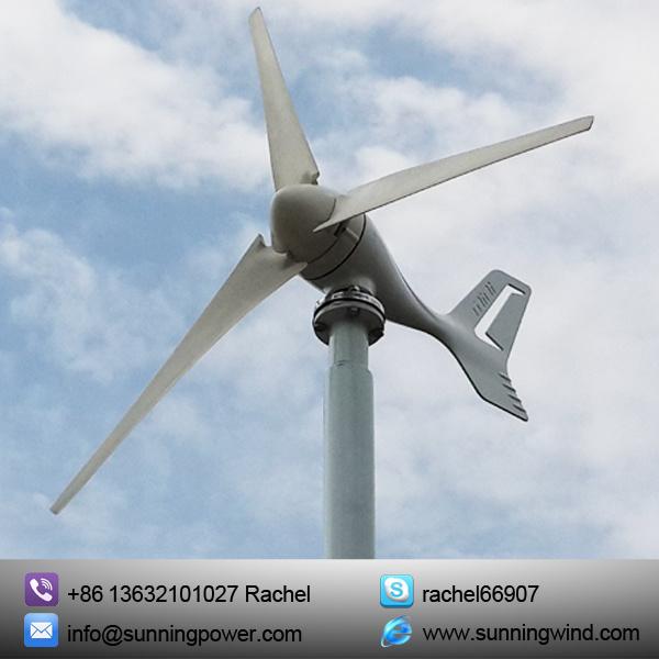 300W Small Wind Turbine Generator System for Boat (MINI 3 300W)