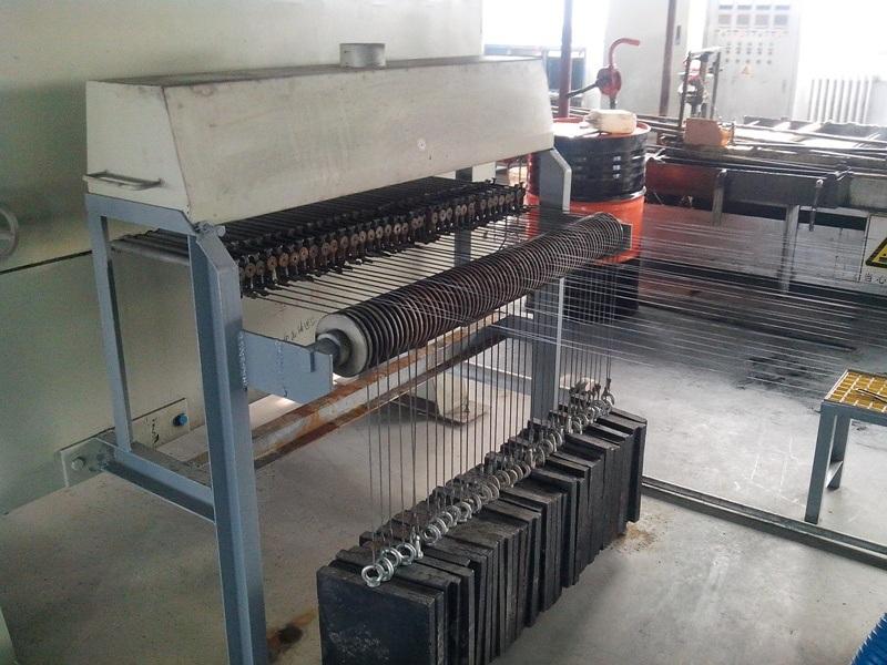 Steel Wire on Line Annealing Furnace Type Muffle