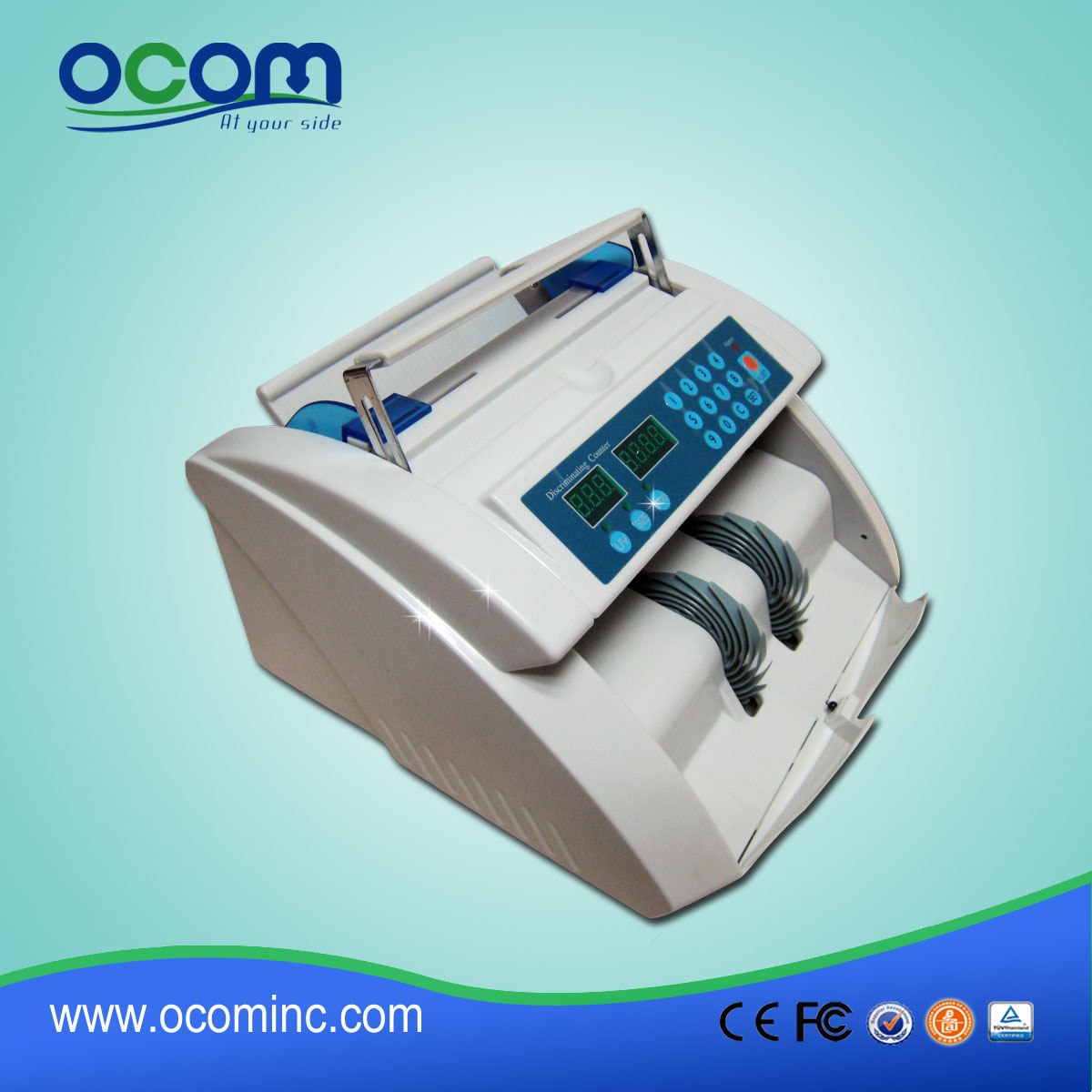 High Speed Currency UV/Mg Money Counter, Cash Counter