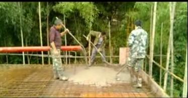 Electric Concrete Pump with Mixer