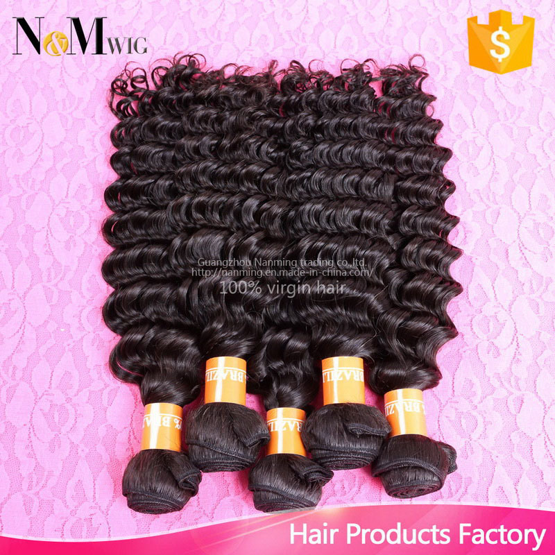 2017 Loose Deep Curly Brazilian Virgin Hair Popular Women Hair Accessories