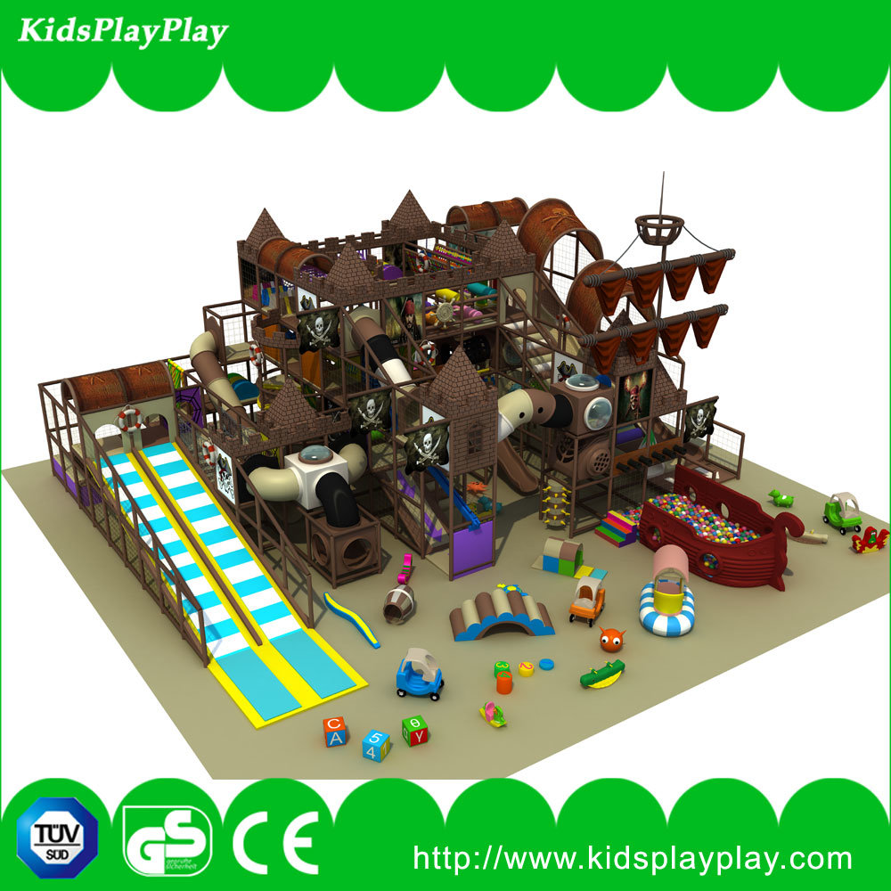 Kid′s Zone Pirate Ship Indoor Soft Playground Equipment for Sale