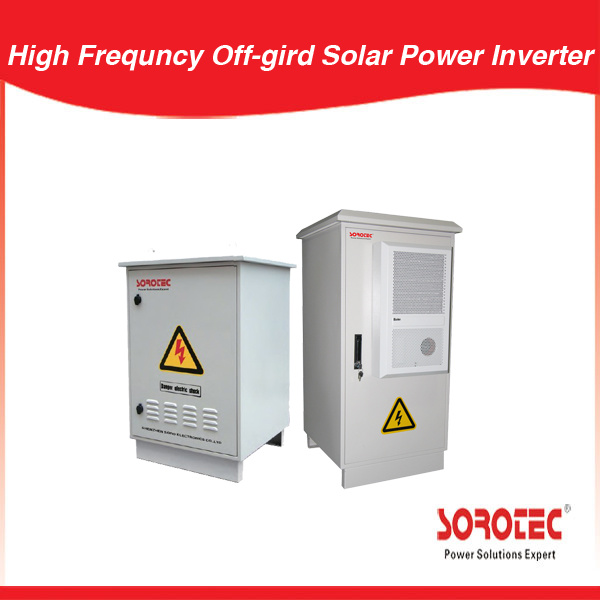 Outdoor Solar Panel Power System Low Frequency Solar Inverter IP55 for Telecom