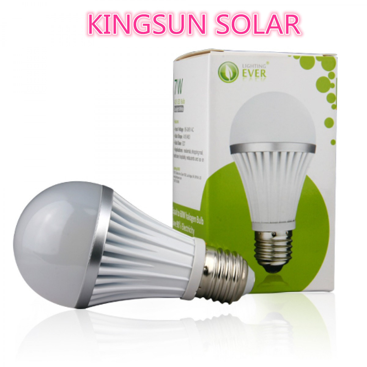 Simple LED Ball Bulb (KS-7W-B)