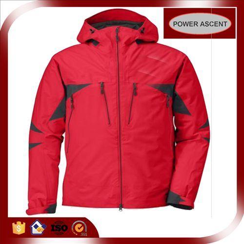 2015 Mens Red Skinny Waterproof Outdoor Winter Ski Jacket