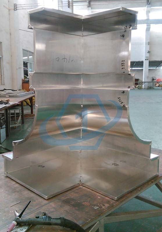 Onebond Fabricated Aluminum Panels with Custom Designs for Building Corners and Columns