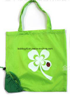 Wholesale Custom Printed Folding Polyester Shopping Bag