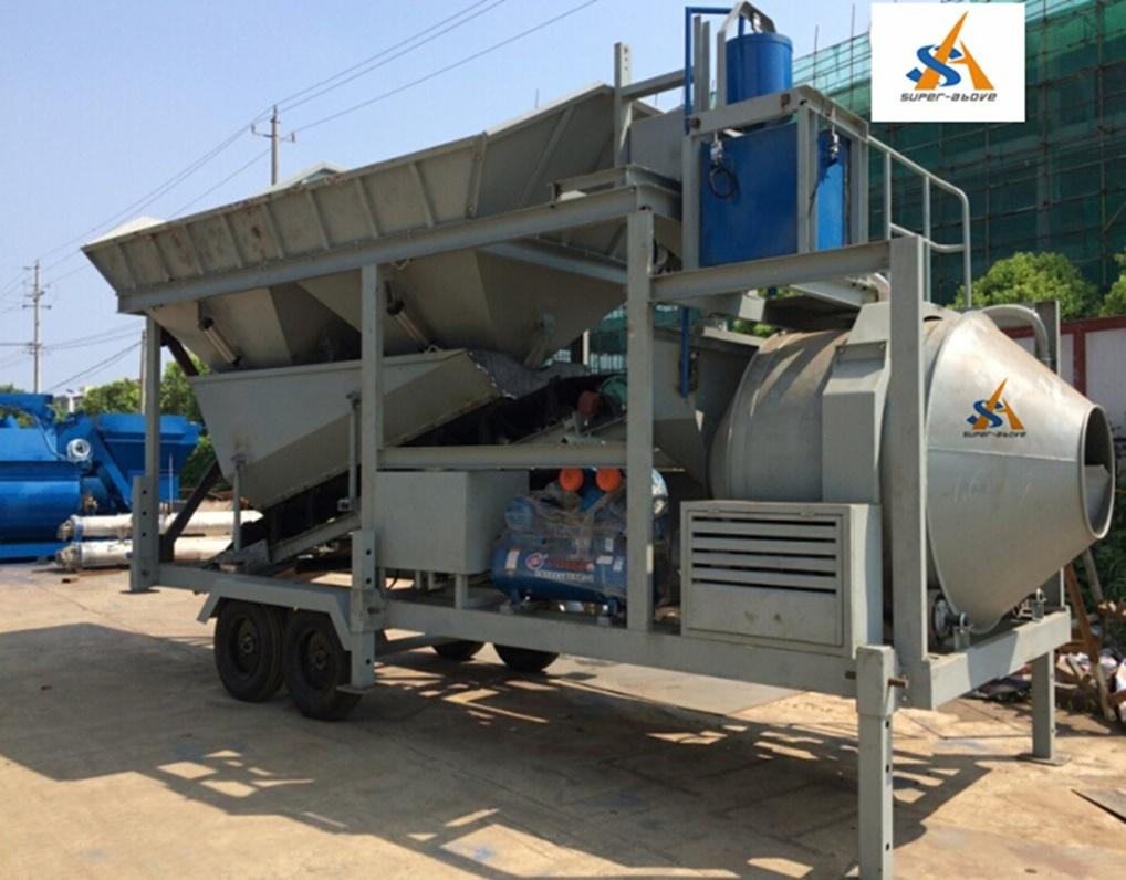 Mobile Concrete Mixing Plant, Concrete Batching Plant, Mobile Concrete Mixing Plant