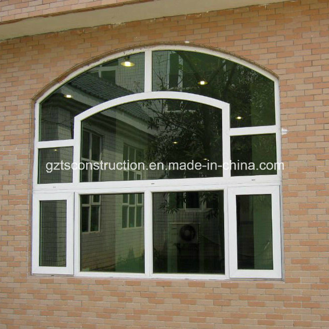 China top double glazing casement pvc fixed window photos for Best triple glazing
