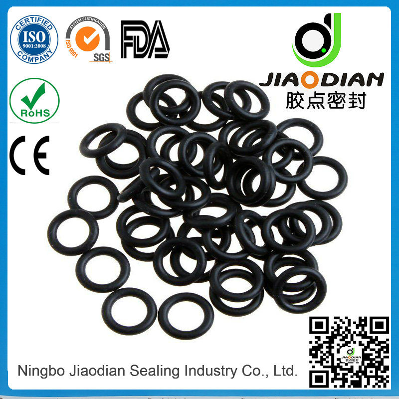 Black NBR O Ring for Hole Sealing with SGS RoHS FDA Certificates As568 Standard (O-RINGS-0053)