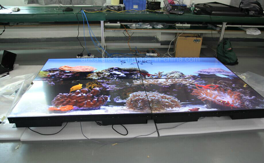 "55"" Ultra Narrow Bezel (3.5mm) LCD Video Wall with 3X3/3X4 Splicing"