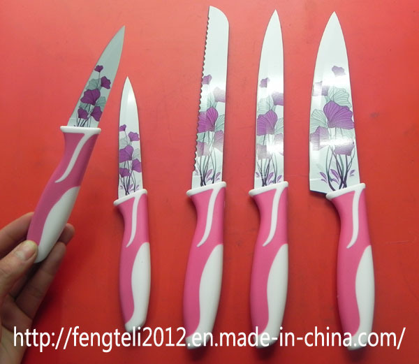 Chinese Kitchen Knife Stainless Saw Family Set Ceramic Fruit Knife Set