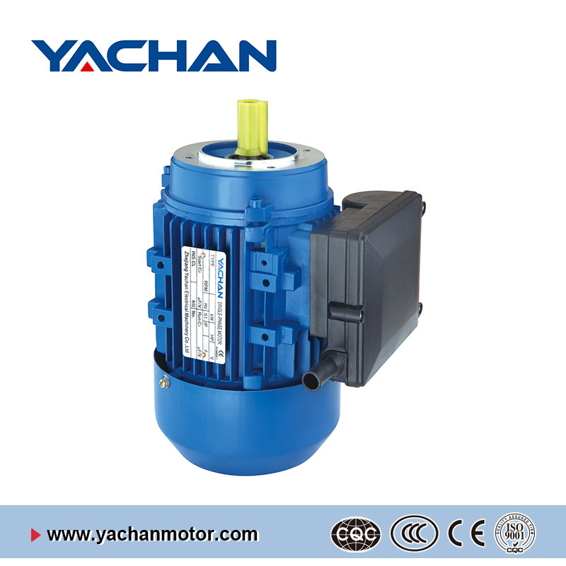CE Aprroved My Series with Running Capacitors Aluminum Body Single Phase Electric Motor