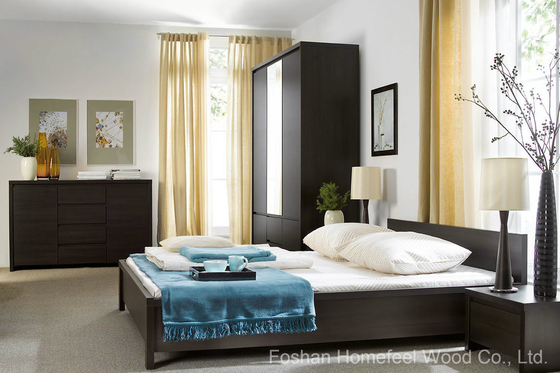 Simple bedroom furniture - Modern Simple Form Bedroom Furniture Sets Hf Ey08266