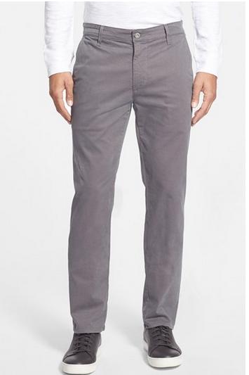 Wholesale Tailored Straight Leg Cotton Chinos