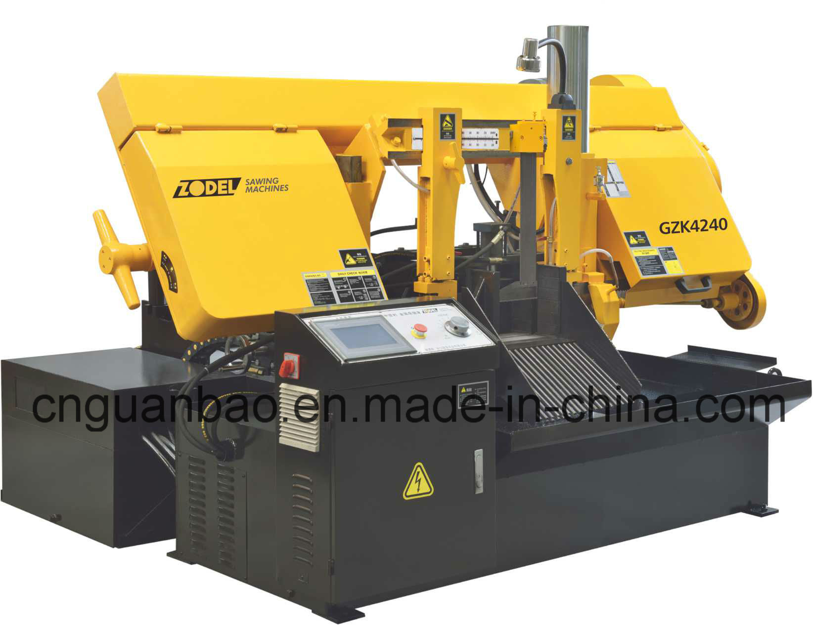 CNC Band Saw Machine Gzk4240 with CE, ISO Certificate