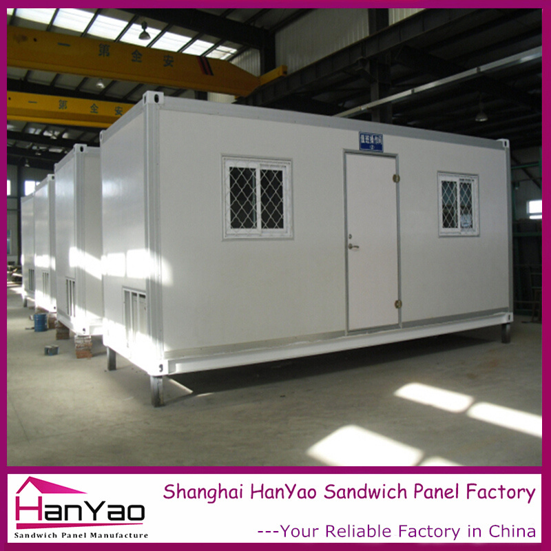 2016 New Prefabricated Living Container House China Supplier