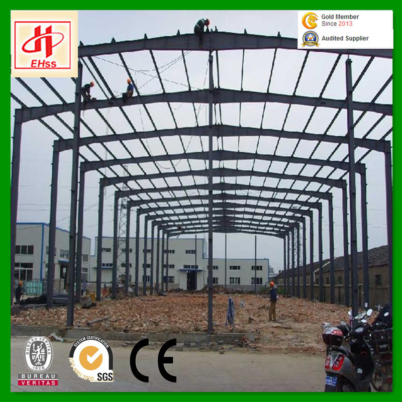 Low Cost Light Steel Structure Warehouse Godown