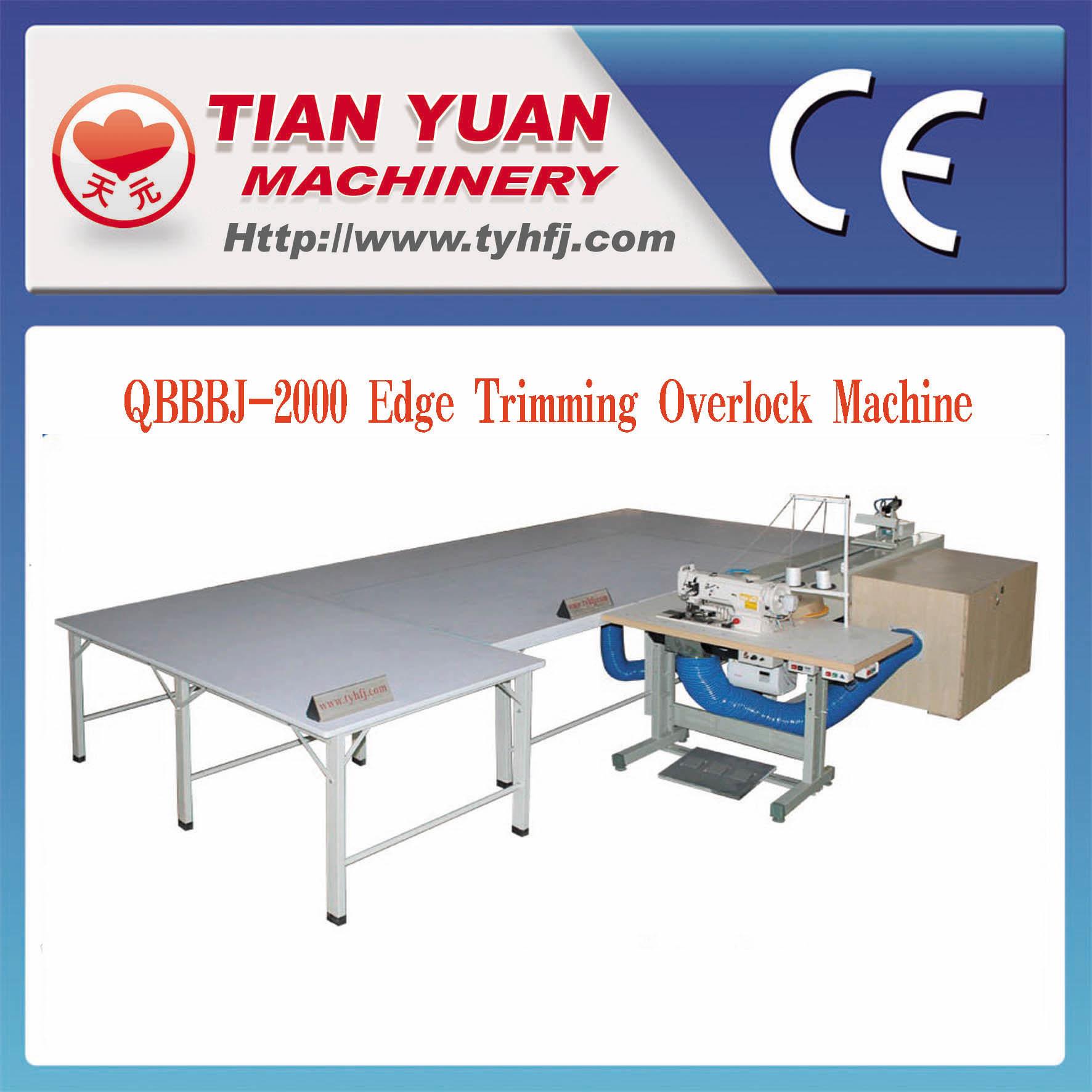 Edge Trimming and Overlock Machine (QBBBJ-2000)