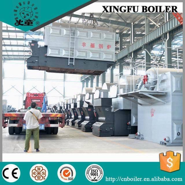 Industrial Coal & Biomass Fired Steam Boiler