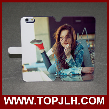 Full Size Sublimation Printing Flip Case for iPhone 6/6s