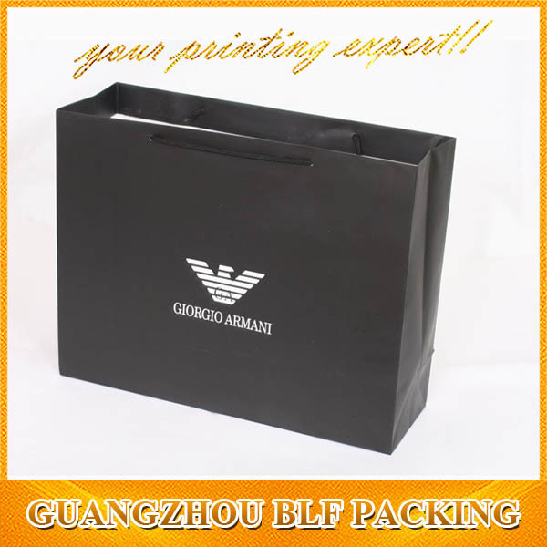 Promotional Custom Paper Shopping Packaging Bag (BLF-PB236)