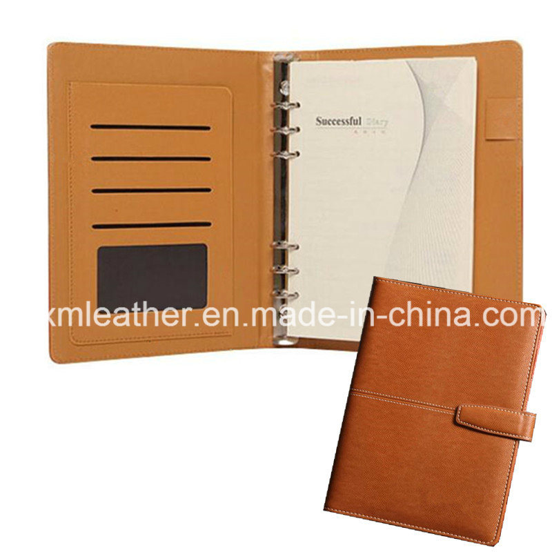 A5 Size Business Leather Notebook Custom Dairy