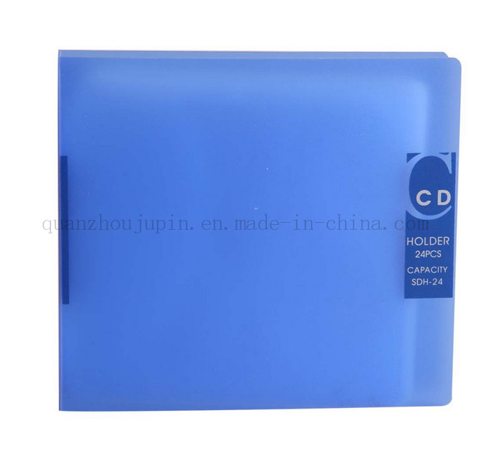 OEM Logo CD DVD VCD Plastic Holder Bag Case