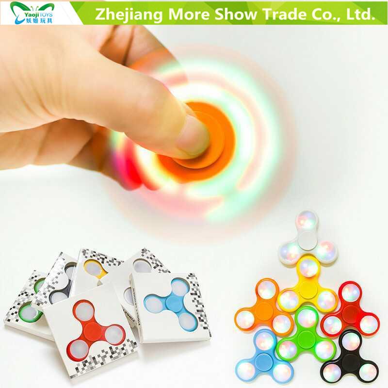 Fast Bearings LED Light Finger Fidget Hand Spinner Fidget Toys