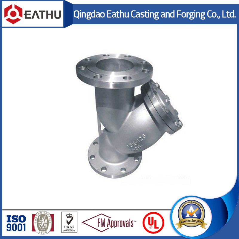 Y Type Strainer with Flange Connection