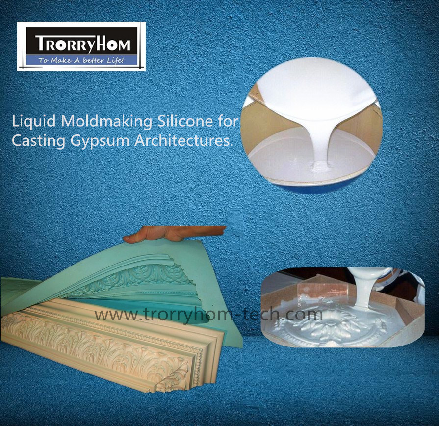 Tin Cure Liquid Silicone for Gypsum Decorations Works