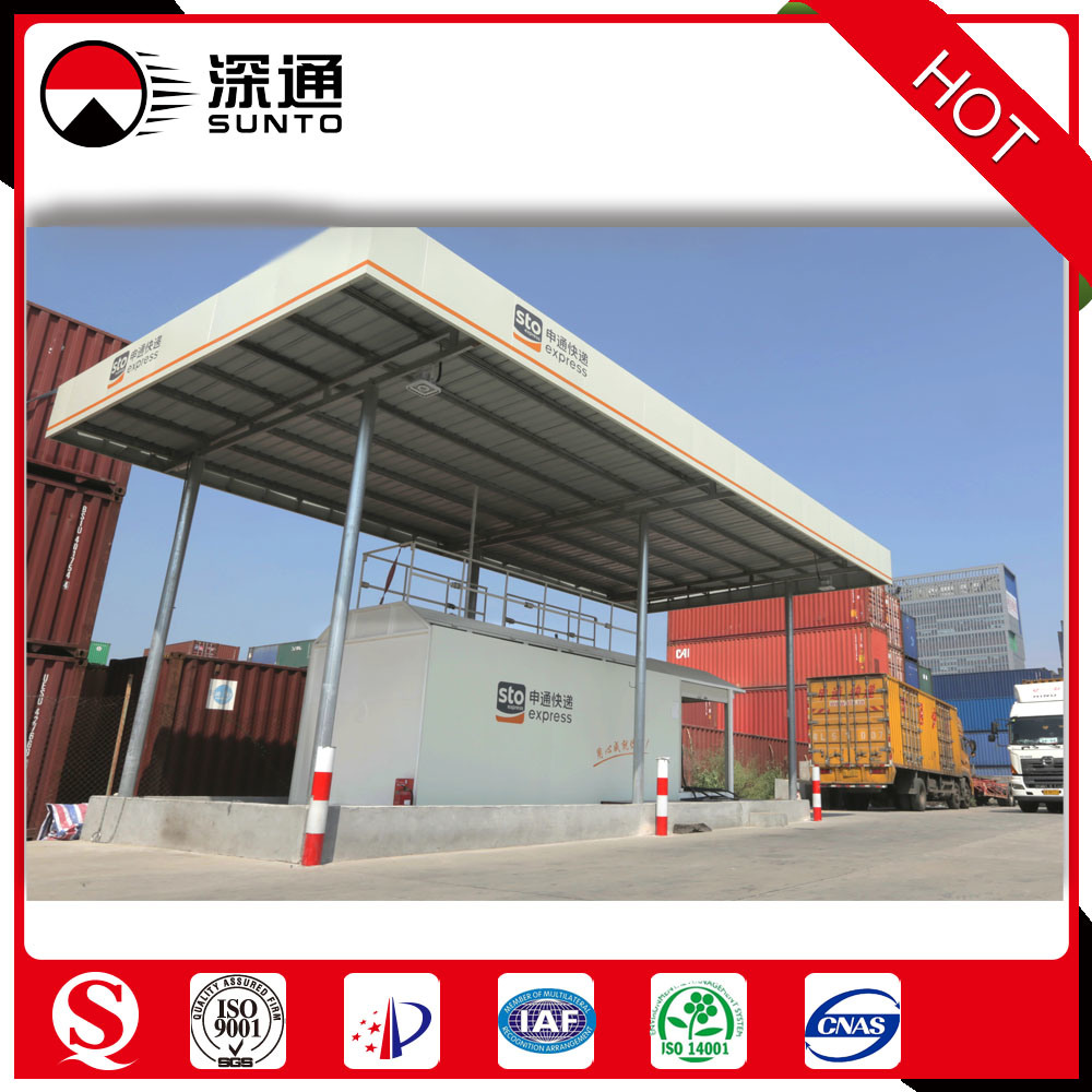 Sunto Container 20FT or 40FT Explosion-Proof Diesel/Gasoline Fuel Station