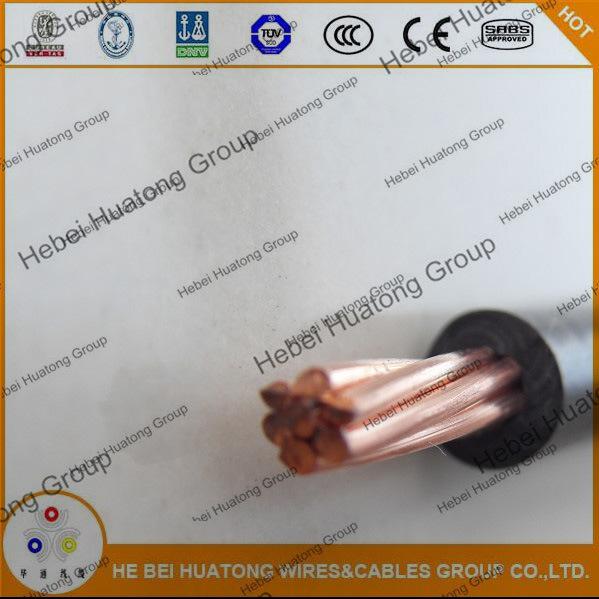 AWG 8 10 12 14 PVC/Nylon Thhn/Thwn Electric Wire