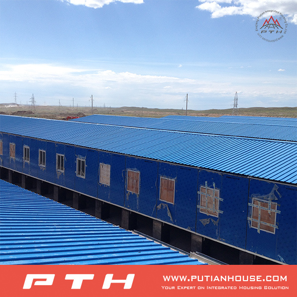 Turn-Key School Project in Prefab House with Classroom/Computer Lab/Office/Dormitory/