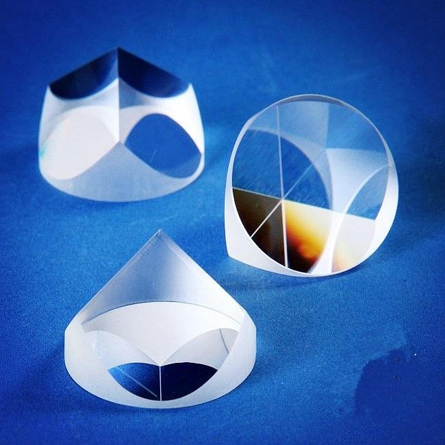 Retro-Reflector Fused Silica/Bk7/K9 Corner Cube