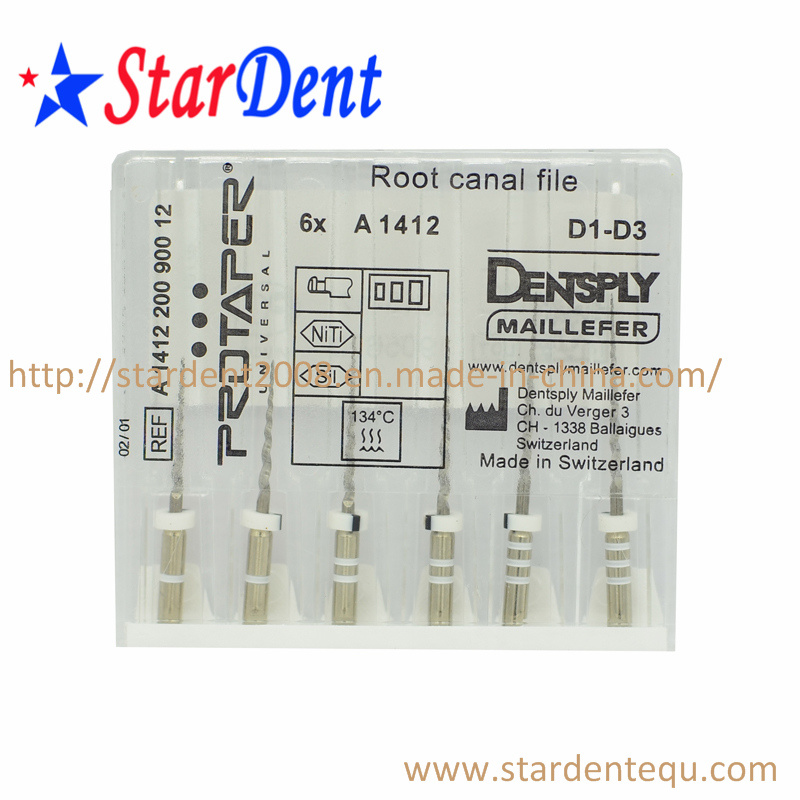 Dental Dentsply Root Canal Protaper Files (with cross) of Hospital Medical Lab Surgical Diagnostic Equipment