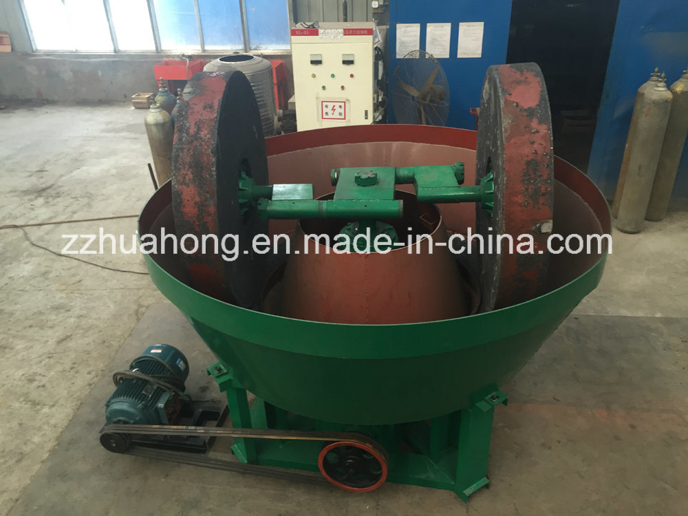 Mine Processing Wet Griding Mill/Wet Pan Mill/Gold Ore Roller Mill