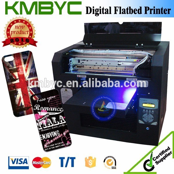 A3 Size Economical UV LED Mobile Cover Printer