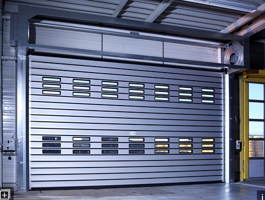 3*3 Polycarbonate Roller Shutter Tutorial Fast Acting Rapid Roll up Internal Door (Hz-FC356)
