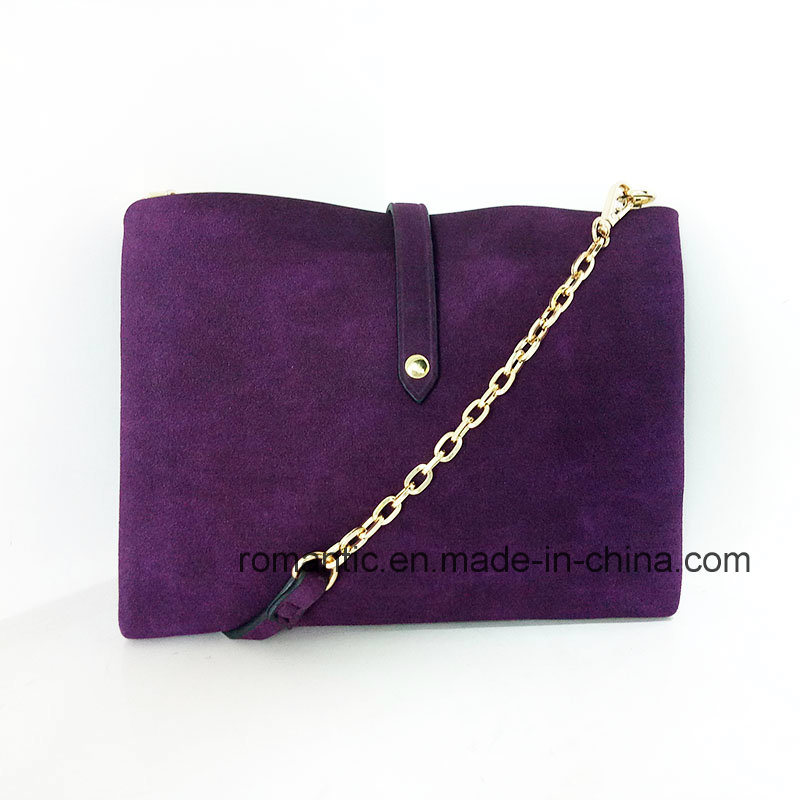 Promotional Mini Lady Fur Leather Handbags Genuine Bag (NMDK-042003)