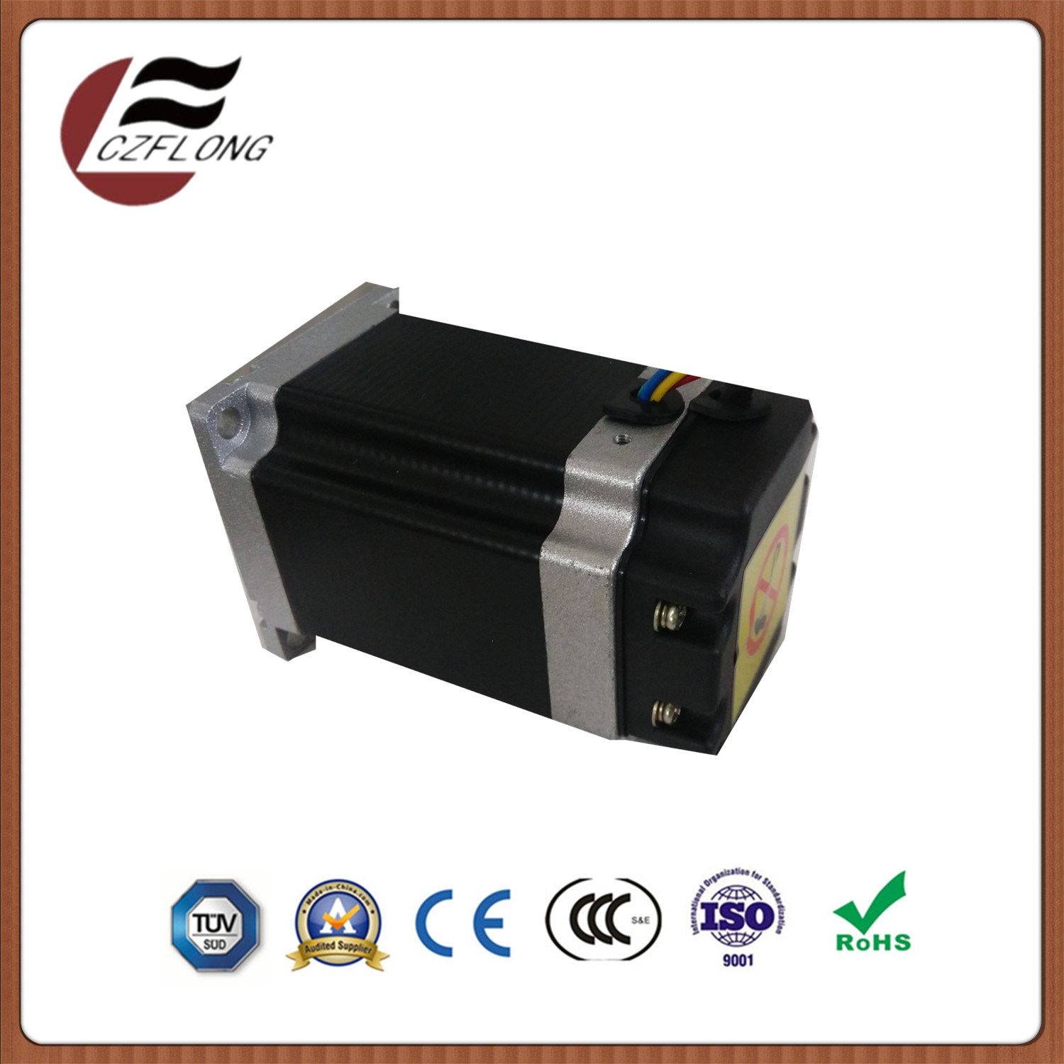 Customized NEMA24 60*60mm Hybrid Stepping Motor for CNC Cutting Machines