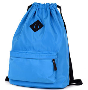 Drawstring Schoo Bag Nylon Travel Bag Simple School Bag