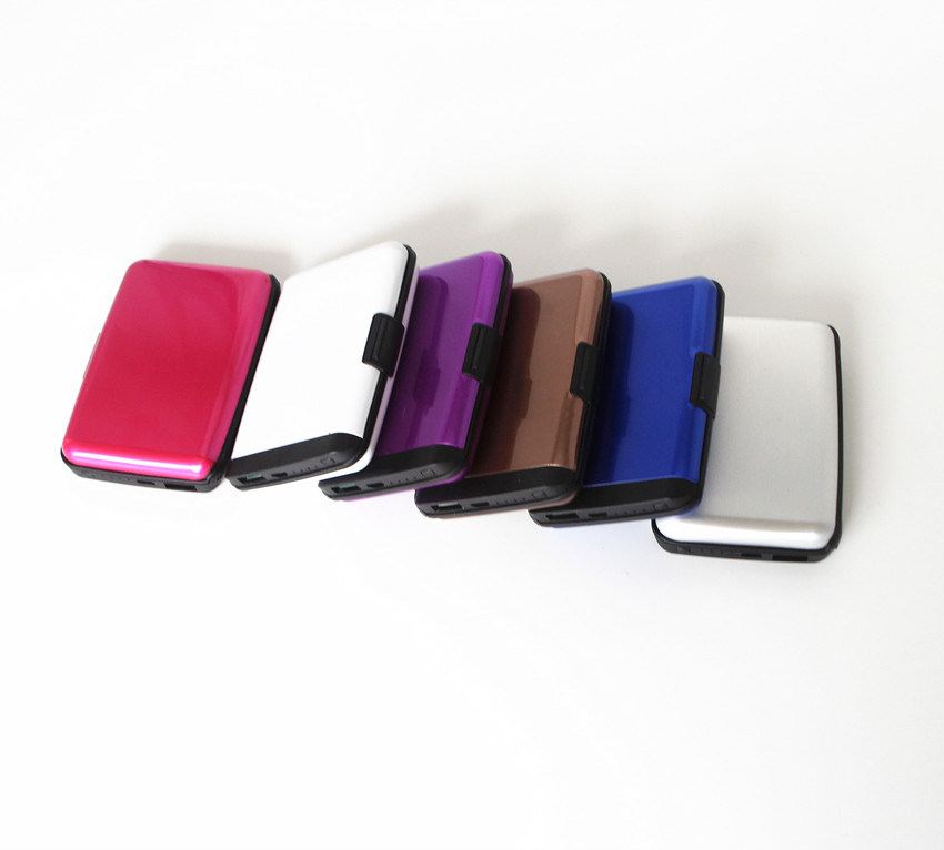Customized RFID Women Power Bank Credit Card Holder