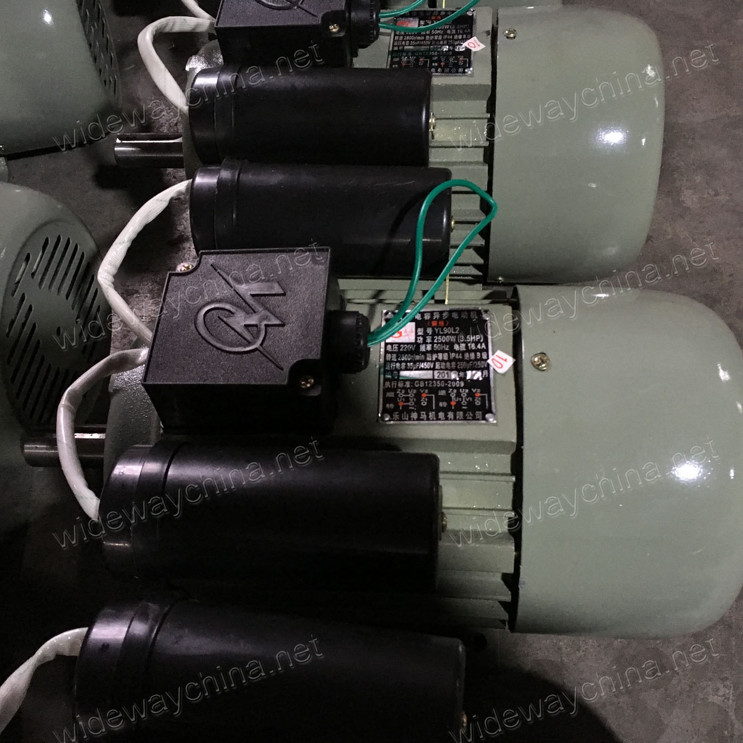 0.37-3kw Single-Phase Double Capacitors Induction AC Electirc Motor for Grass Cutter Use, Direct Manufacturer, Motor Discount