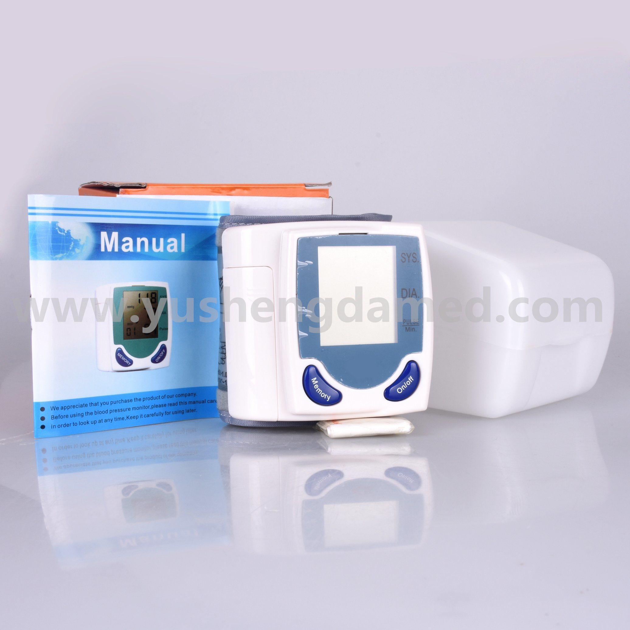 Hospital Equipment Automatic Arm Type Digital Blood Pressure Monitor