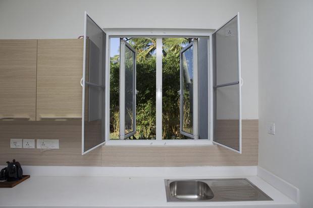 Panama Standard PVC Windows Single Glazed UPVC Window