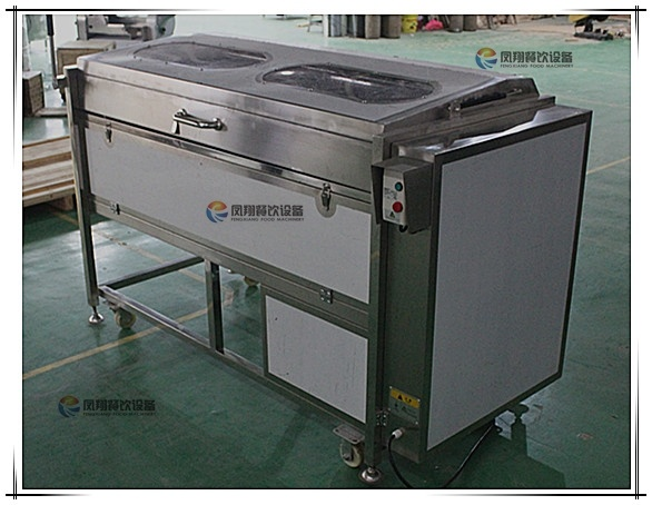 Mstp-1000 Attrition Type Potato Washer Vegetable Peeling and Washing Machine